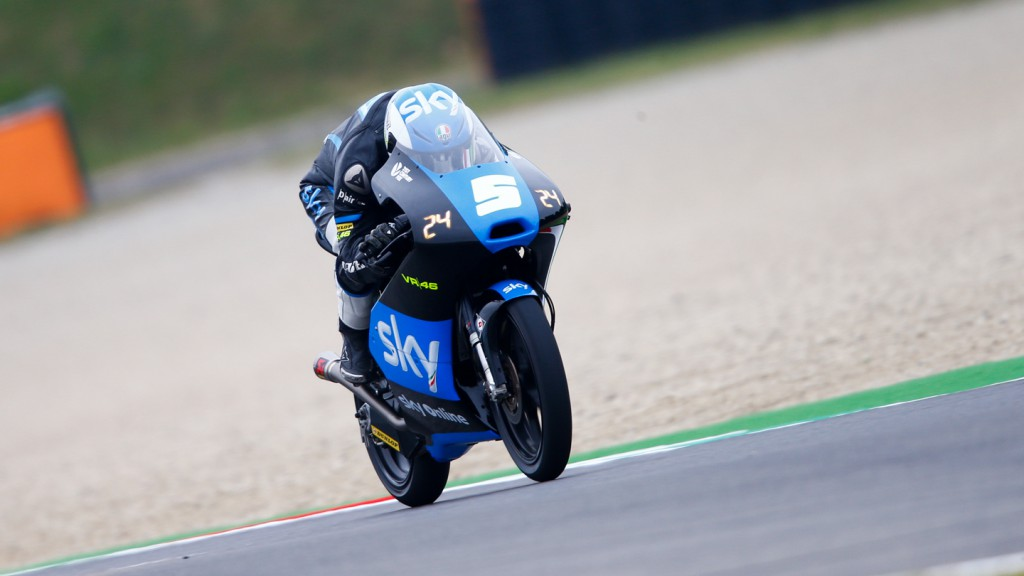 Romano Fenati, SKY Racing Team  VR46, ITA QP