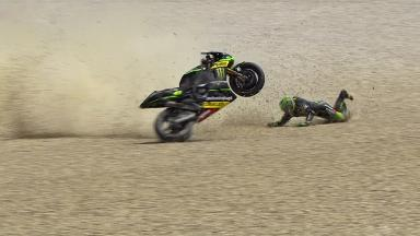 Mugello 2014 - MotoGP - Q2 - Action - Pol Espargaro - Crash