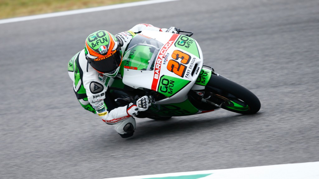 Niccolò Antonelli, Junior Team GO&FUN Moto3, ITA QP