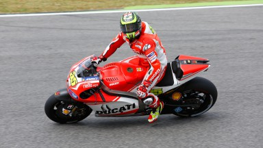 Cal Crutchlow, Ducati Team, ITA Q2