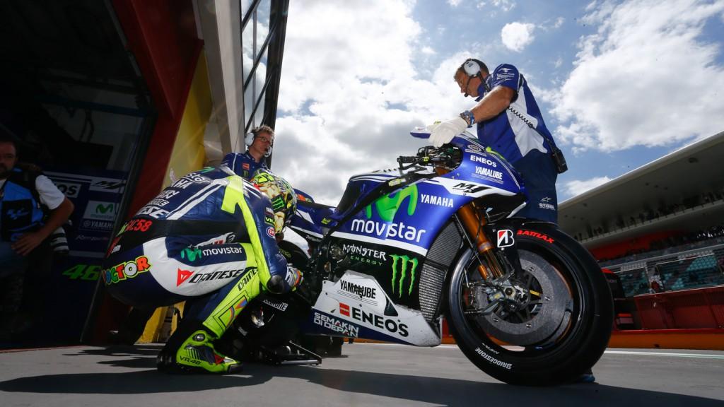 Valentino Rossi, Movistar Yamaha MotoGP, ITA Q2