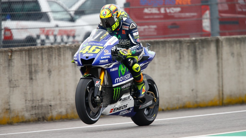 Valentino Rossi, Movistar Yamaha MotoGP, ITA FP3