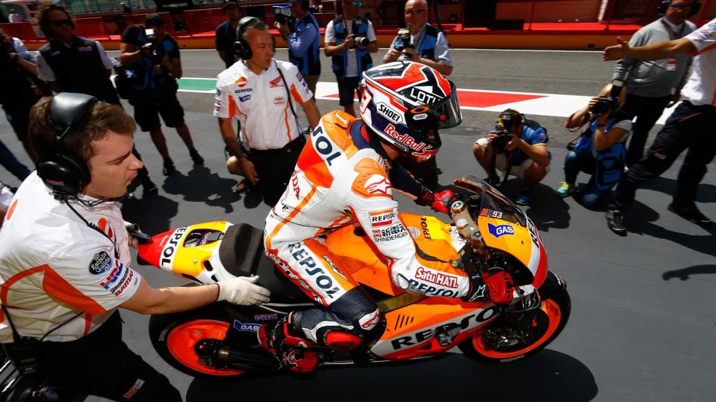Marc Marquez, Repsol Honda Team, ITA Q2