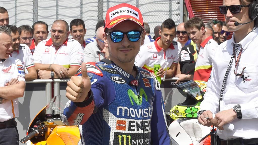 Jorge Lorenzo, Movistar Yamaha MotoGP, ITA Q2