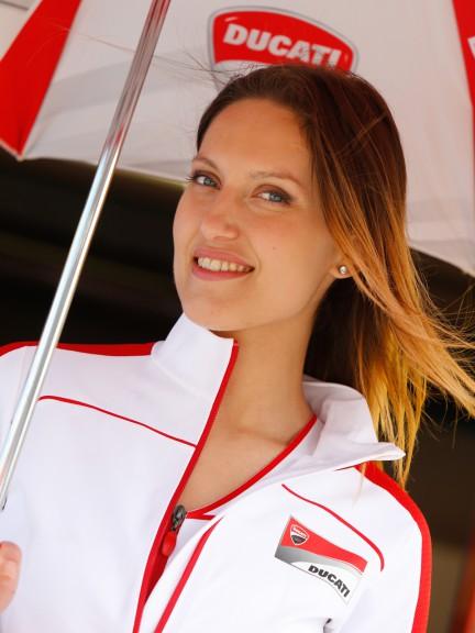 Paddock Girls, Gran Premio D´Italia TIM