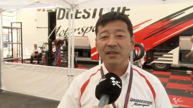 Mugello 2014 - MotoGP - RACE - Interview - Hiroshi Yamada