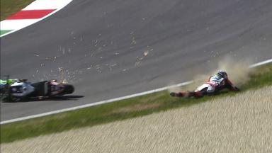 Mugello 2014 - MotoGP - WUP - Action - Stefan Bradl - Crash
