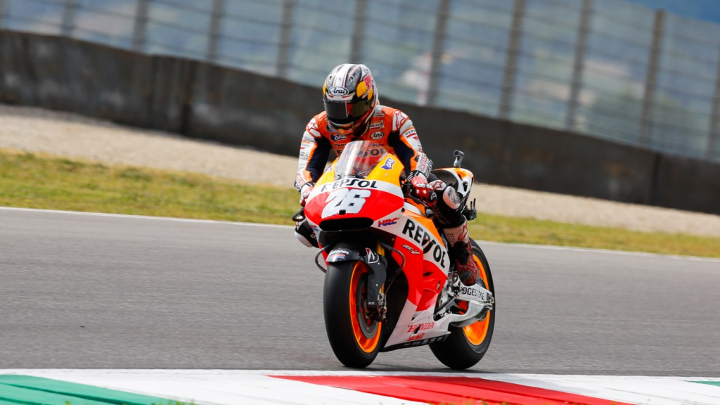 Dani Pedrosa, Repsol Honda Team, ITA WUP