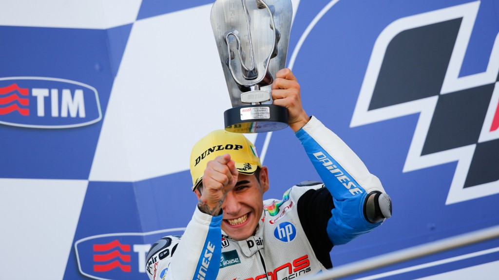 Luis Salom, Pons HP 40, ITA RACE