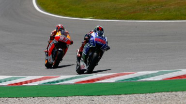 Jorge Lorenzo, Marc Marquez, Movistar Yamaha MotoGP, Repsol Honda Team, ITA RACE