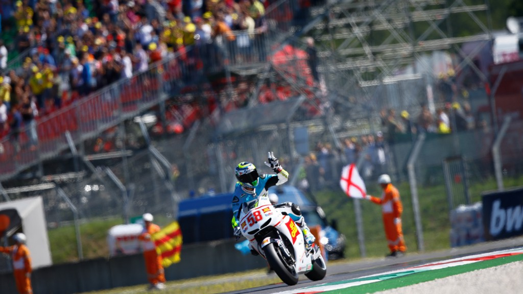 MotoGP Legend Marco Simoncelli Tribute Lap