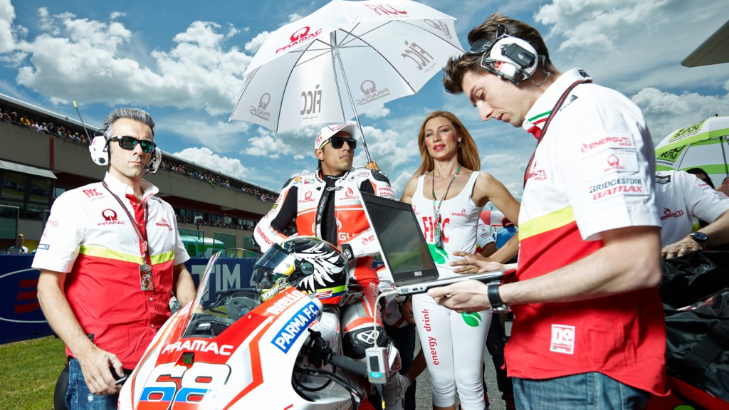 Yonny Hernandez, Pramac Racing, ITA RACE - © Copyright Alex Chailan & David Piolé