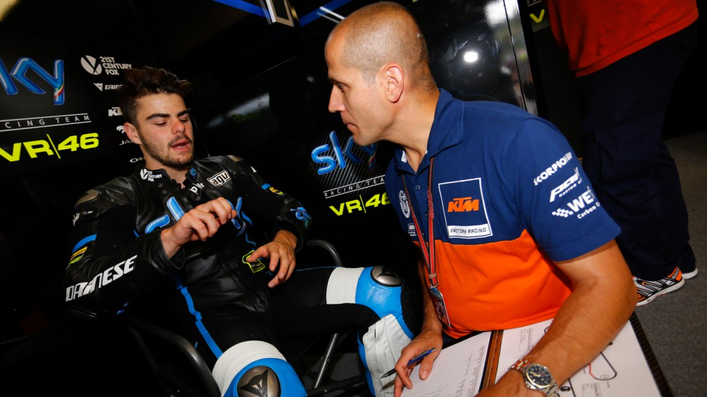 Romano Fenati, SKY Racing Team VR46, Mugello Test