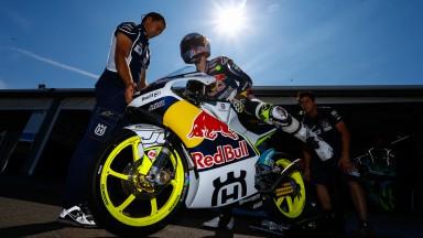 Danny Kent, Red Bull Husqvarna Ajo, Mugello Test