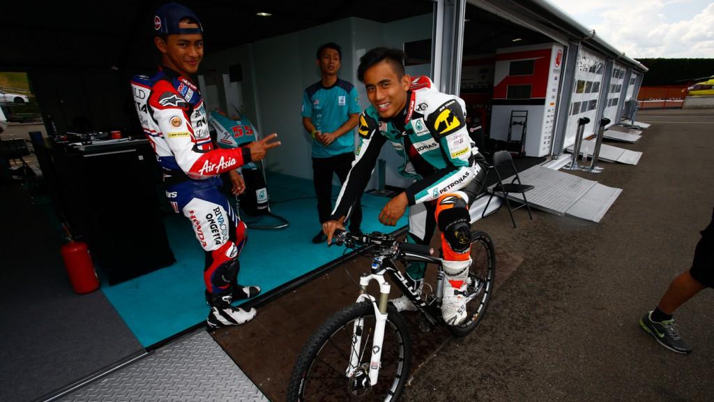 Hafizh Syahrin, Petronas Raceline Malaysia, Mugello Test