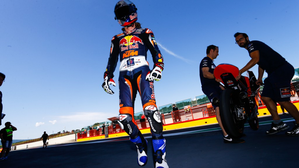 Karel Hanika, Red Bull KTM Ajo, Mugello Test