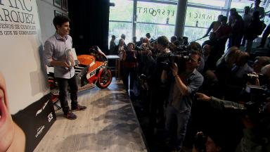 Official Marquez biography launched in Barcelona