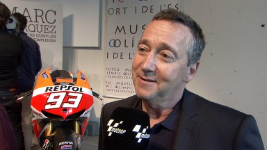Freddie Spencer at Marc Marquez book launch