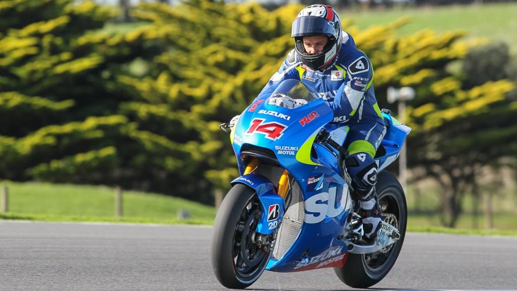 Randy De Puniet, Suzuki MotoGP Test Team, Phillip Island Test