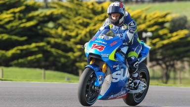 Randy De Puniet, Suzuki MotoGP Test Team, Phillip Island Test