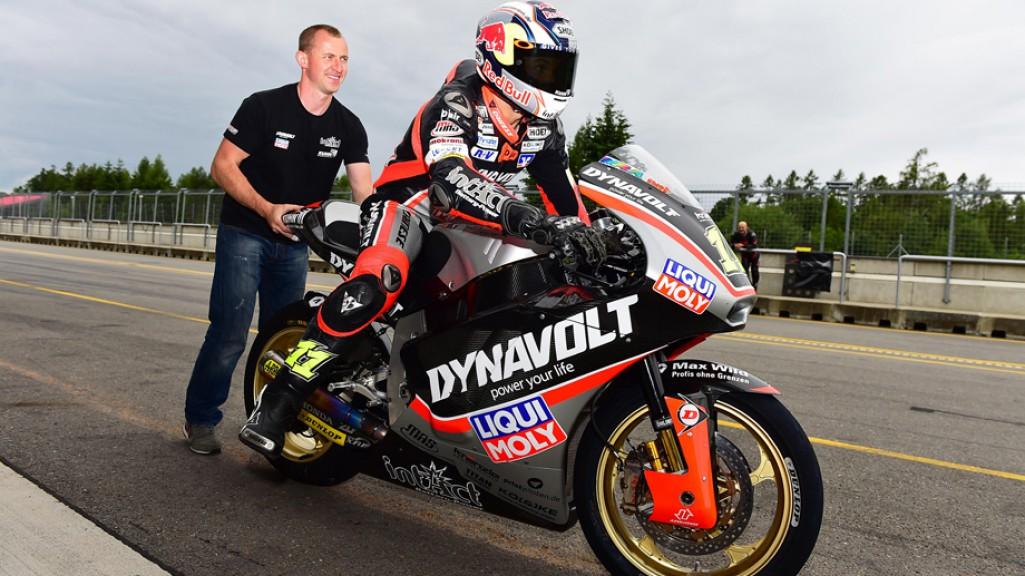 Sandro Cortese, Dynavolt Intact GP, Brno Test