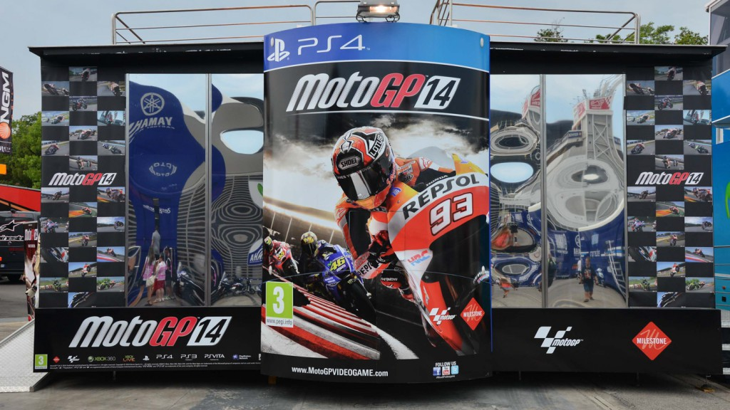 Official MotoGP 2014 videogame presentation