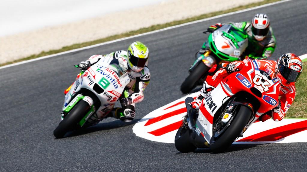 Hiroshi Aoyama, Hector Barbera, Andrea Dovizioso, Avintia Racing, Drive M7 Aspar, Ducati Team, CAT FP1