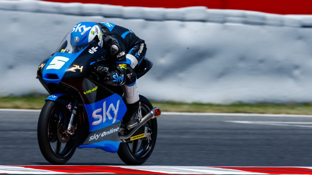 Romano Fenati, SKY Racing Team  VR46, CAT FP2