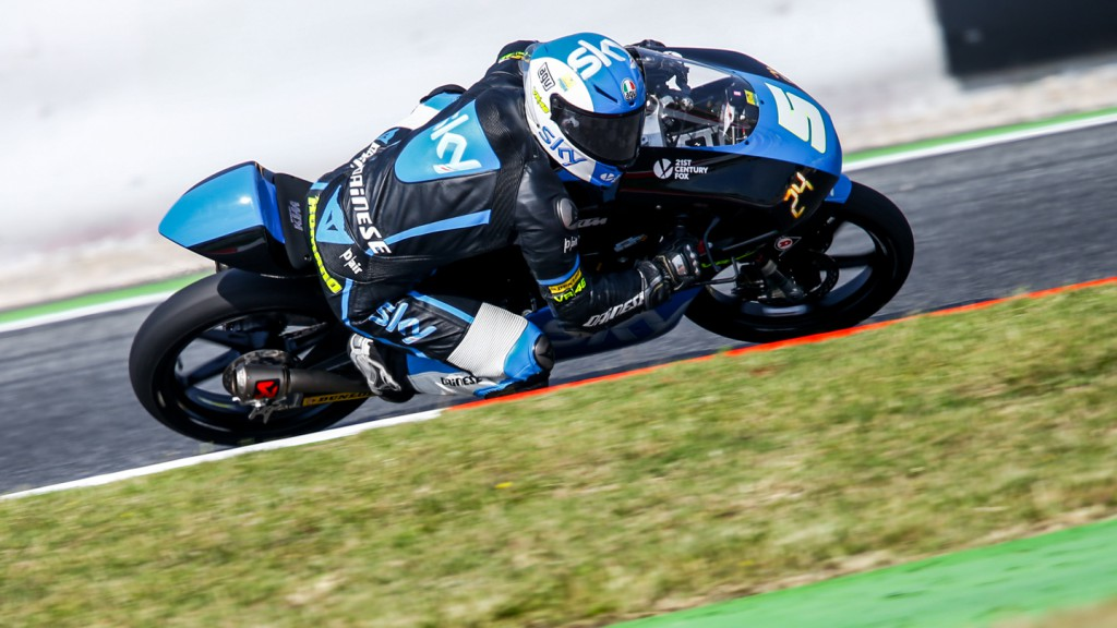 Romano Fenati, SKY Racing Team  VR46, CAT FP1