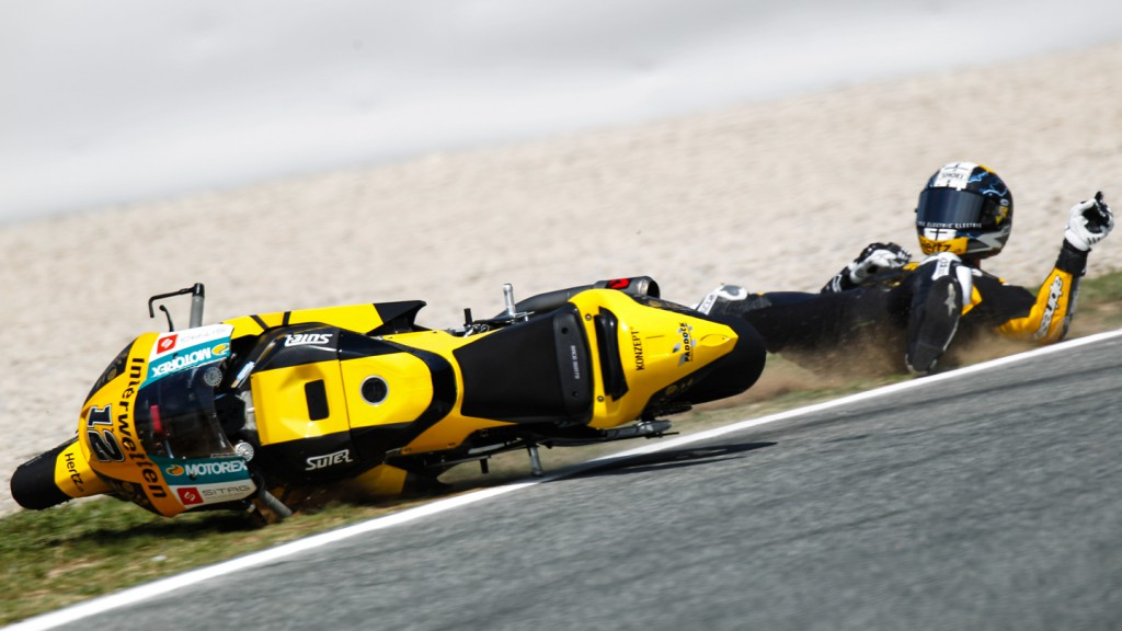 Thomas Luthi, Interwetten Paddock Moto2, CAT FP2 ©  Alejandro Ceresuela
