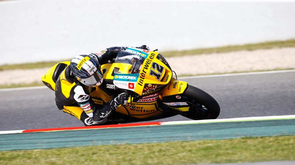Thomas Luthi, Interwetten Paddock Moto2, CAT FP1