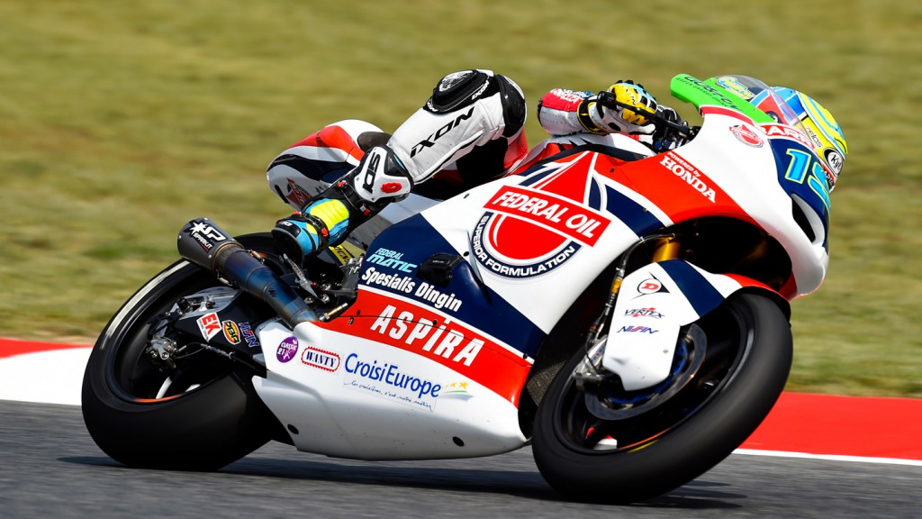 Xavier Simeon, Federal Oil Gresini Moto2, CAT FP2