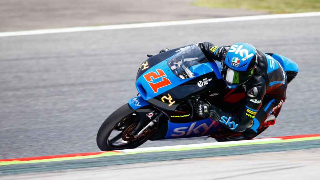 Francesco Bagnaia, SKY Racing Team  VR46, CAT FP2