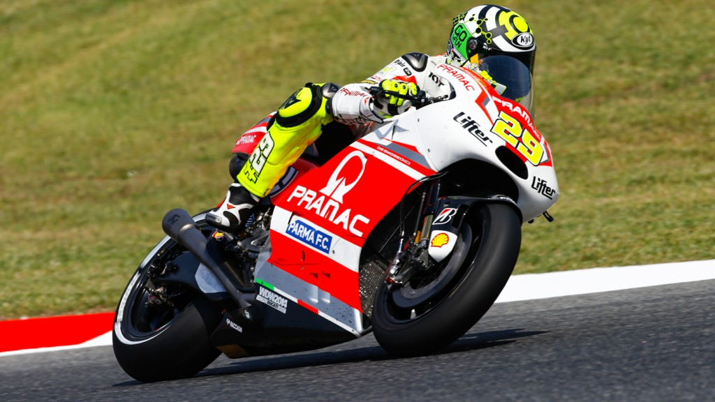 Andrea Iannone, Pramac Racing, CAT FP2