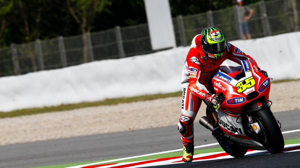 Cal Crutchlow, Ducati Team, CAT FP2