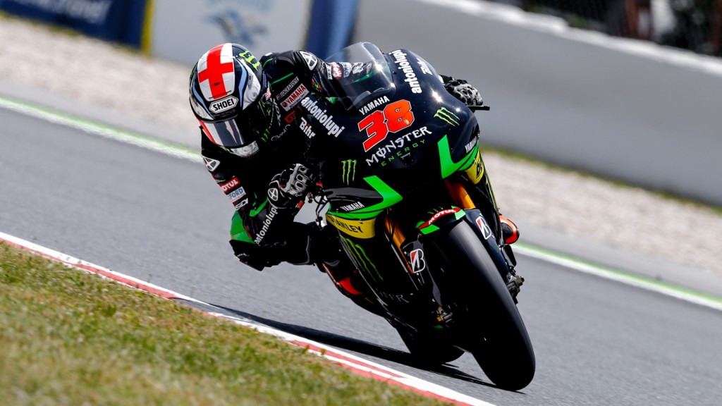 Bradley Smith, Monster Yamaha Tech 3, CAT FP2