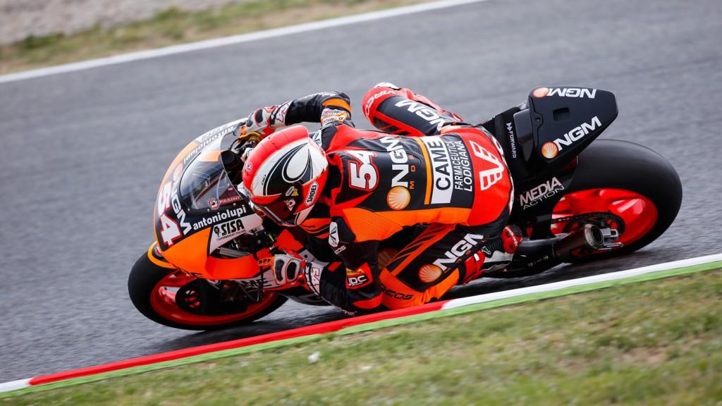 Mattia Pasini, NGM Forward Racing, CAT FP2
