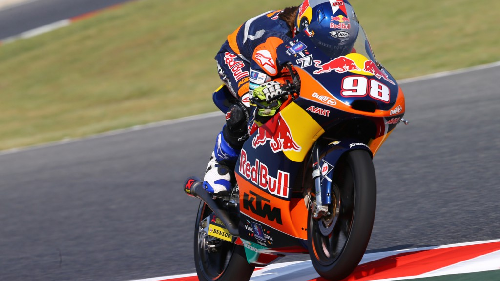 Karel Hanika, Red Bull KTM Ajo, CAT FP2