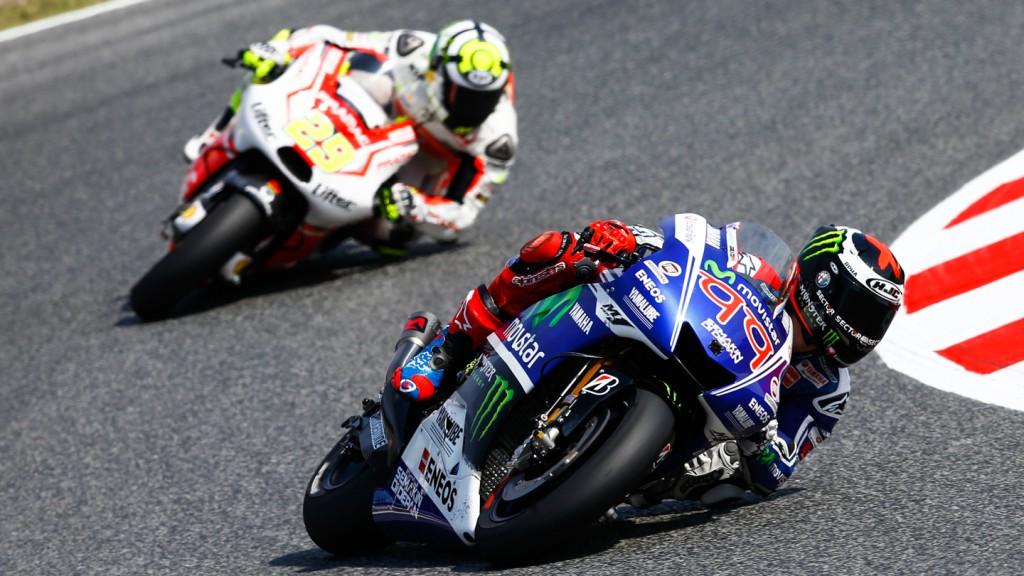 Jorge Lorenzo, Andrea Iannone, Movistar Yamaha MotoGP, Pramac Racing, CAT FP2