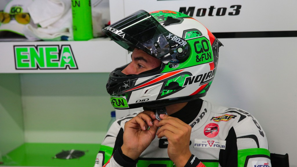 Enea Bastianini, Junior Team GO&FUN Moto3, CAT FP2