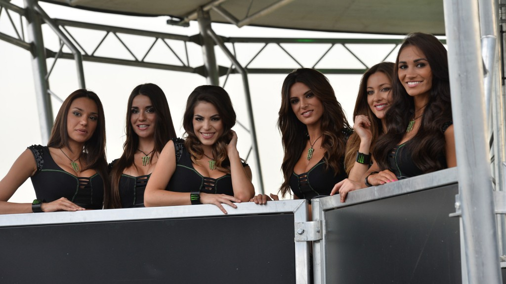 Monster Energy Girls at 'The Doctor' launch