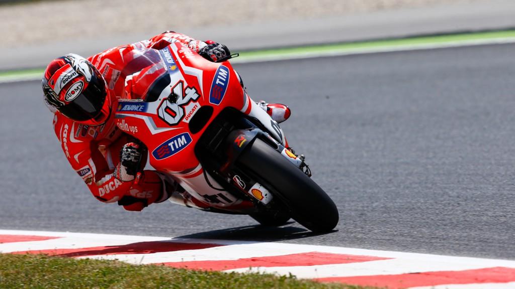 Andrea Dovizioso, Ducati Team, CAT FP4