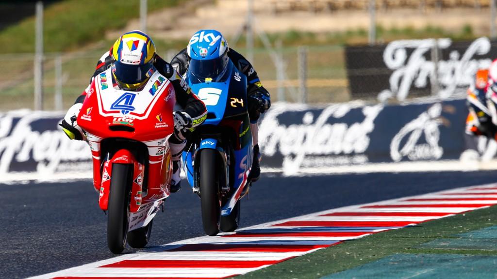 Gabriel Ramos, Romano Fenati, Kiefer Racing, SKY Racing Team  VR46, CAT QP