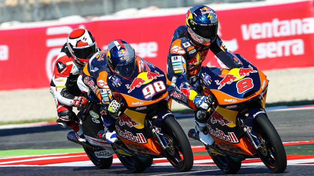 Karel Hanika, Jack Miller, Red Bull KTM Ajo, CAT QP