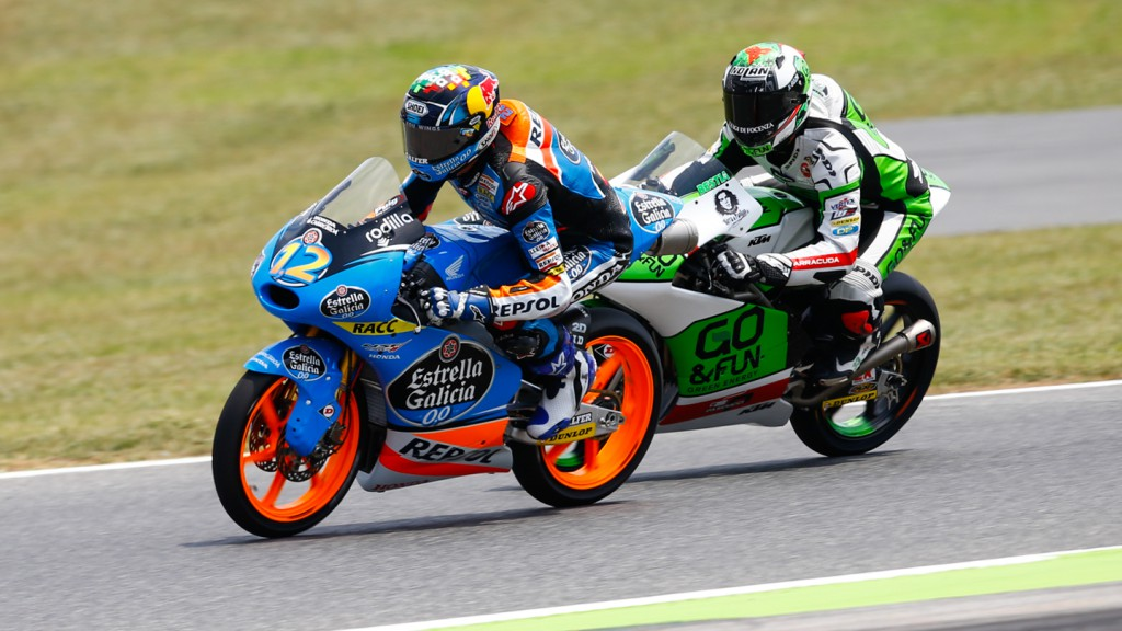 Alex Marquez, Enea Bastianini, Estrella Galicia 0,0,  Junior Team GO&FUN Moto3, CAT FP3