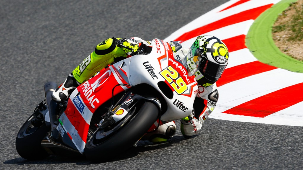 Andrea Iannone, Pramac Racing, CAT Q2