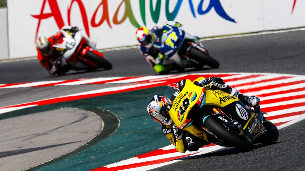 Maverick Viñales, Paginas Amarillas HP 40, CAT QP