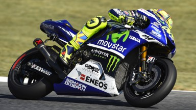 Valentino Rossi, Movistar Yamaha MotoGP, CAT Q2