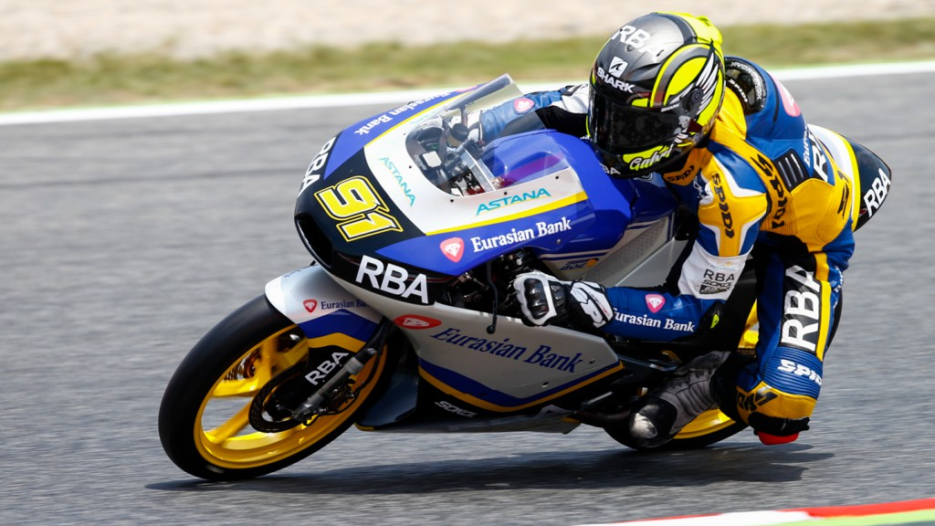 Gabriel Rodrigo, RBA Racing Team, CAT FP3