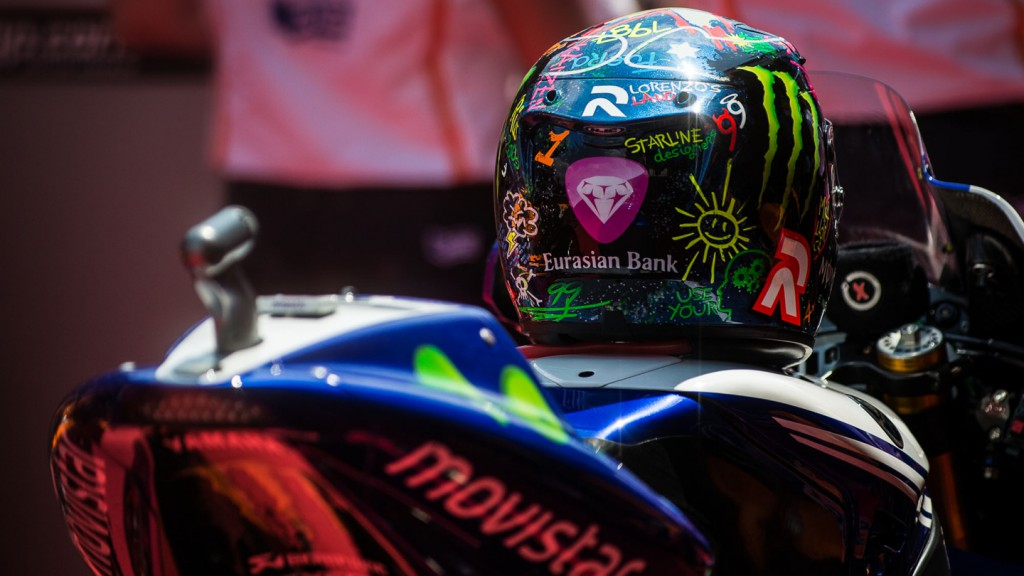 Jorge Lorenzo, Movistar Yamaha MotoGP, CAT Q2 © Copyright Scott Jones, PHOTO.GP